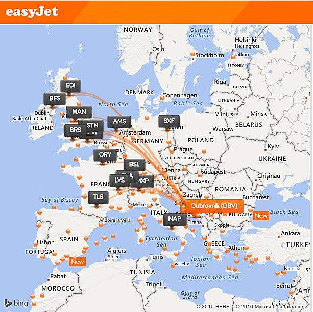 Easyjet To Launch Belfast To Dubrovnik Flights