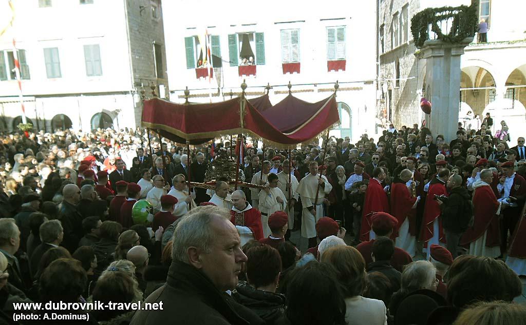 Festa Svetog Vlaha - Crowd on Stradun