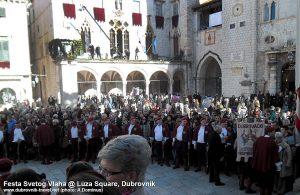 Feast of St Blaise - Sponza Palace @ Dubrovnik
