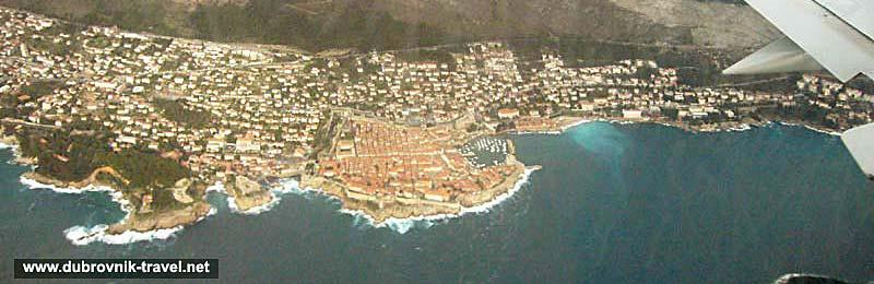 Flight to Dubrovnik