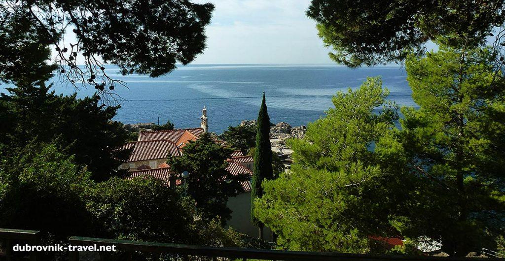 Views overFranciscan convent and church of Sveta Marija