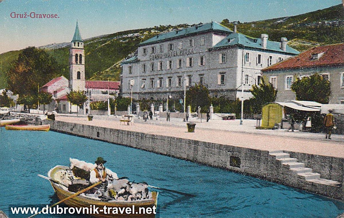 Grand Hotel Petka, Dubrovnik (1905)