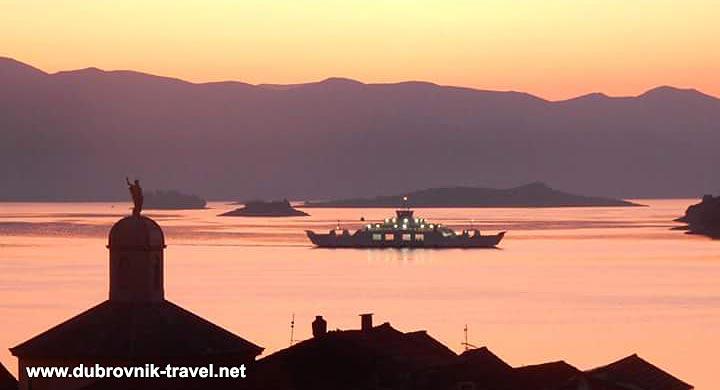 Island Hopping by car ferry