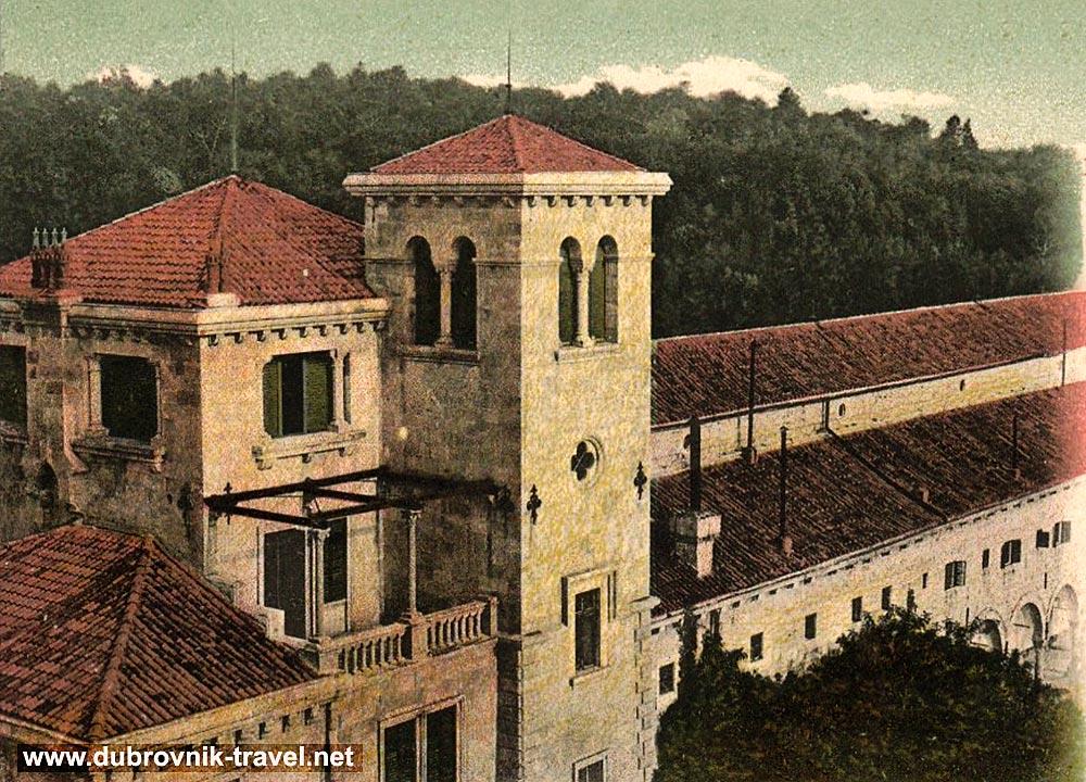 Benedictine Monastery, Lokrum - cloister and inner facade