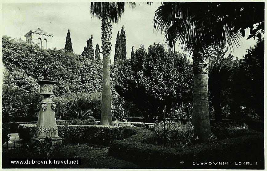 Tranquil garden ambience – Lokrum