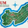 Map of Lokrum
