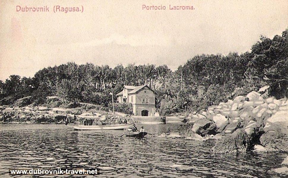 Portoč bay, Lokrum Island in early 1900s