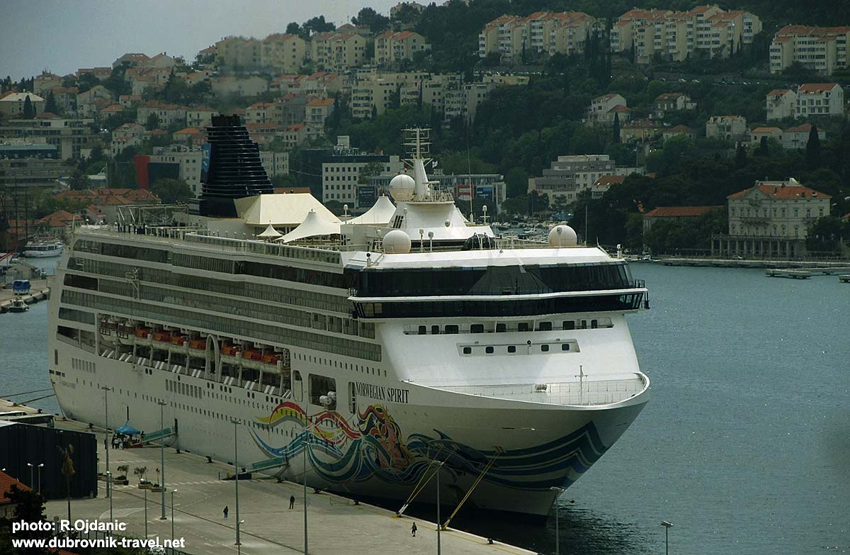 Norwegian Spirit Cruise Ship in Dubrovnik