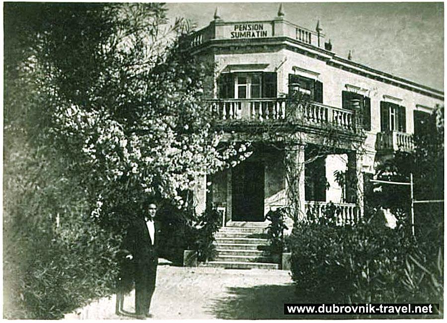 Pension Sumratin (Hotel Sumratin) - Dubrovnik (1930s)