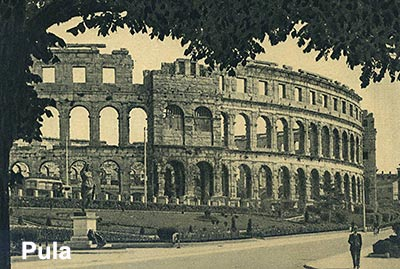 Arena - the remaining Roman amphitheatre