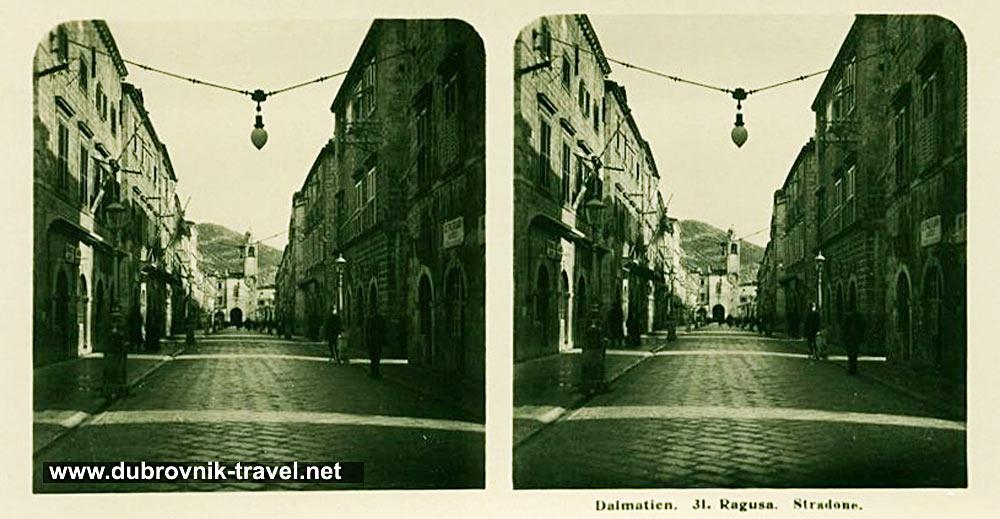 ragusa-dubrovnik-stradun1906