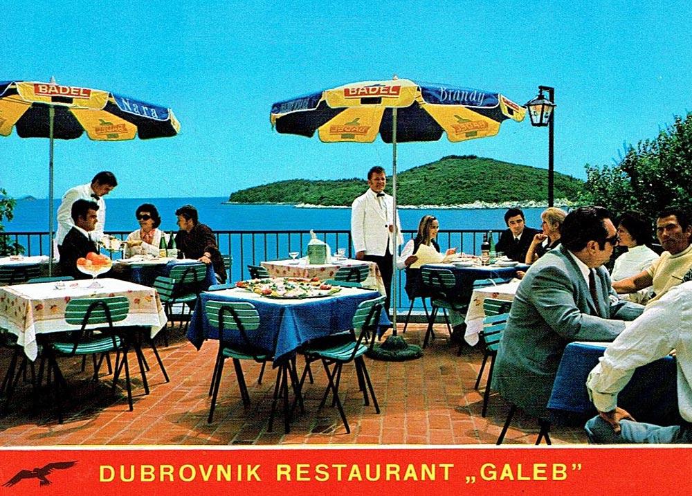 Restaurant 'Galeb' - Dubrovnik (1970s)