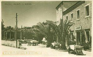 Restaurant 'Goga' - Mlini - Dubrovnik (1920s)