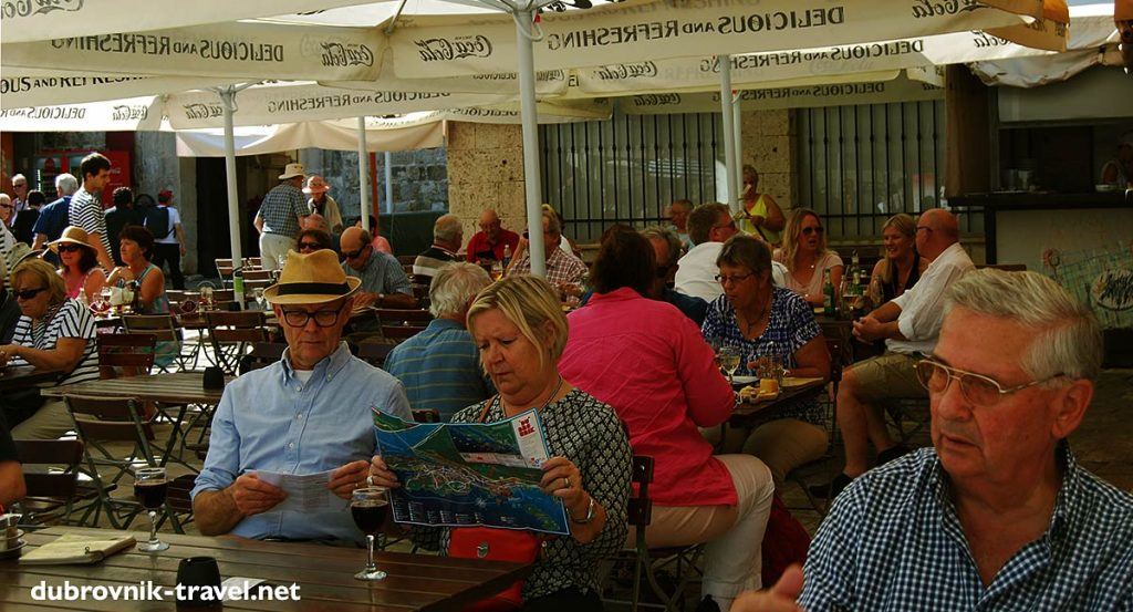 restaurant in dubrovnik