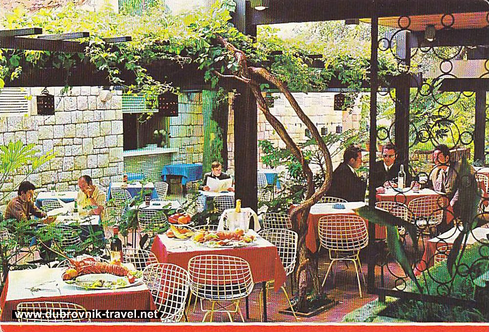 Restaurant 'Mimoza' - Dubrovnik (1970s)