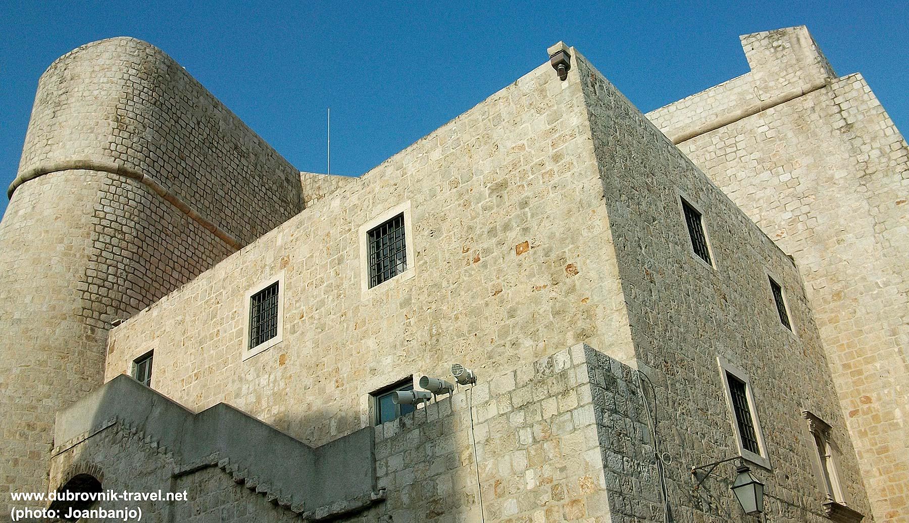 Detail of Fortress Revelin in Dubrovnik