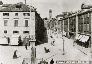Stradun, Orlando - Street Scene (1901)