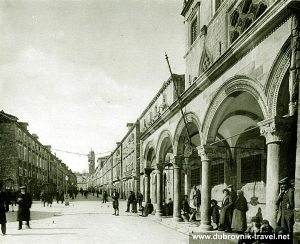 Stradun Street Scene (1910)