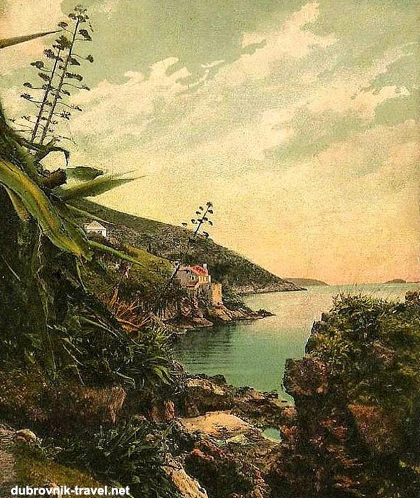 Above photo: A romantic image of the coastline of Sveti Jakov in the 1900s.