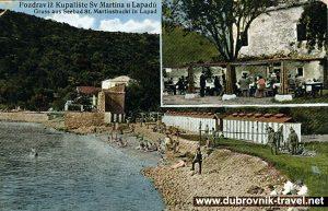 Beach Uvala Lapad in 1914